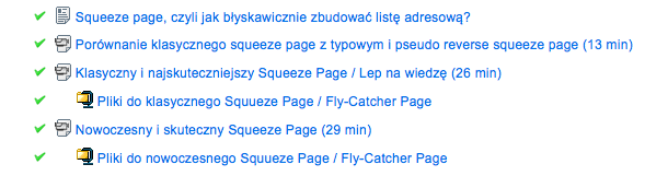 Wykłady Sekrety Naksuteczniejszych Squeeze Page