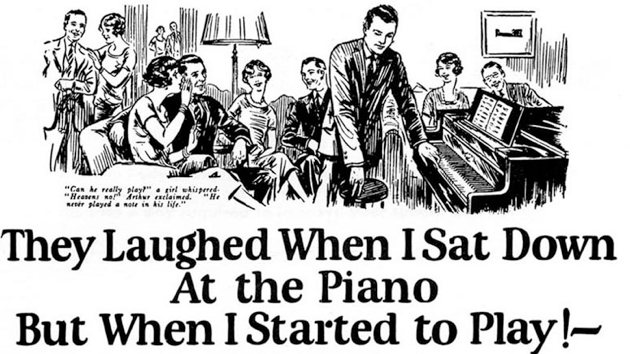 They Laughted When I Sat Down At The Piano